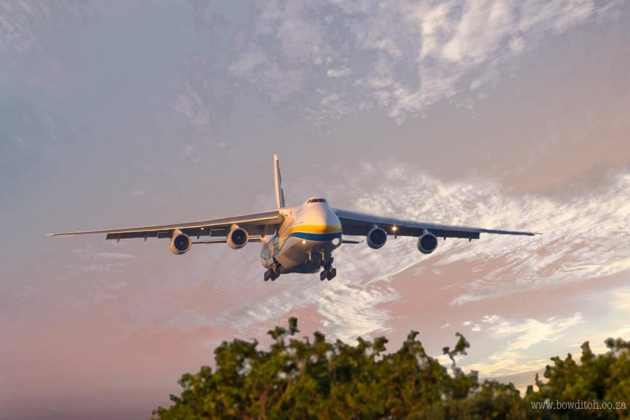 The majestic Antonov 124.